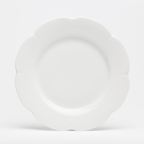 Royal Limoges  Nymphea - White Dinner plate $30.00