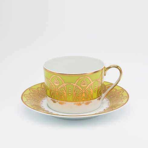 Royal Limoges  Recamier - Oasis Green Tea cup $100.00