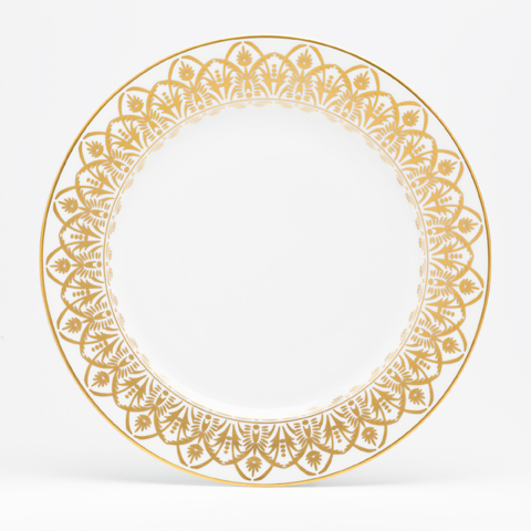 Royal Limoges  Recamier - Oasis White Dinner plate $100.00