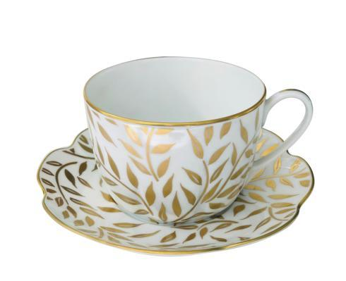 Royal Limoges  Nymphea - Olivier Gold Breakfast cup $145.00