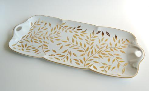 Rectangular cake platter image