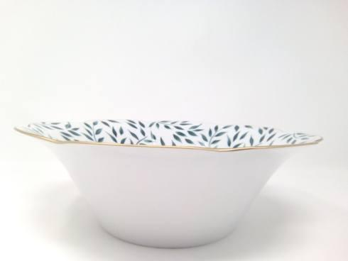 Royal Limoges  Nymphea - Olivier Green Salad bowl $395.00
