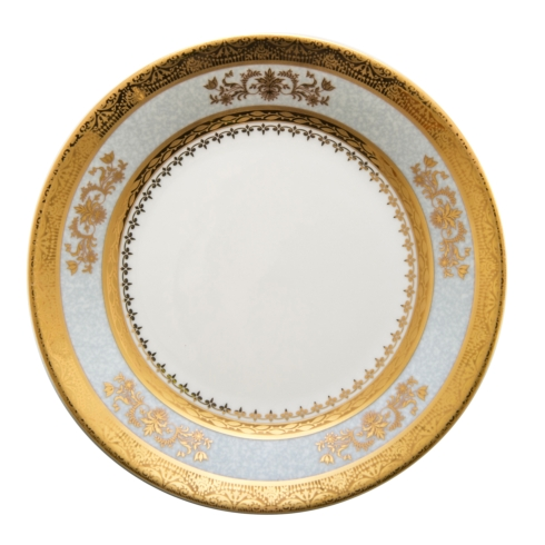 Deshoulieres  Orsay powder blue Bread & Butter Plate $90.00