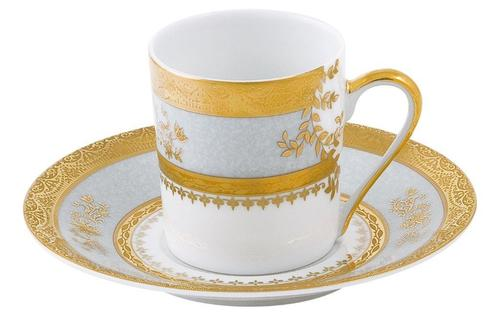 Deshoulieres  Orsay powder blue Coffee Saucer $55.00