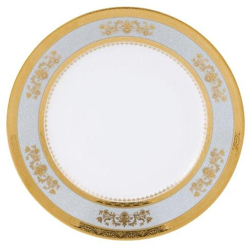 Deshoulieres  Orsay powder blue Dessert Plate $120.00