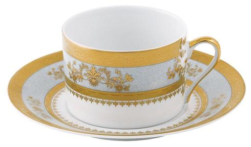 Deshoulieres  Orsay powder blue Tea Saucer $60.00