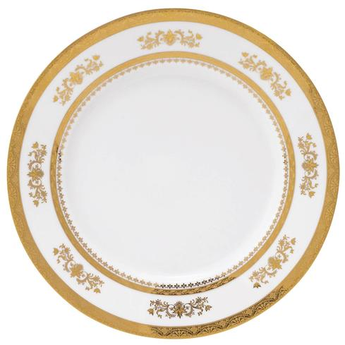Deshoulieres  Orsay white Dinner Plate $130.00
