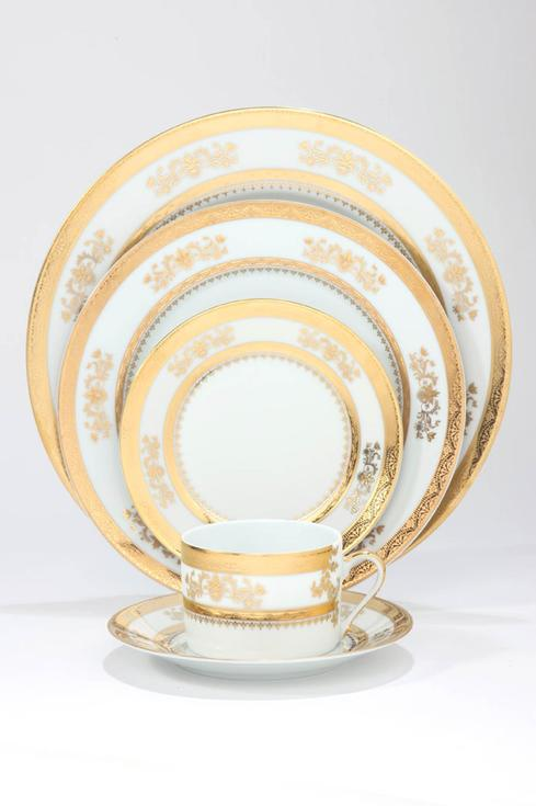 Deshoulieres  Orsay white 5 Piece Place Setting  * $435.00