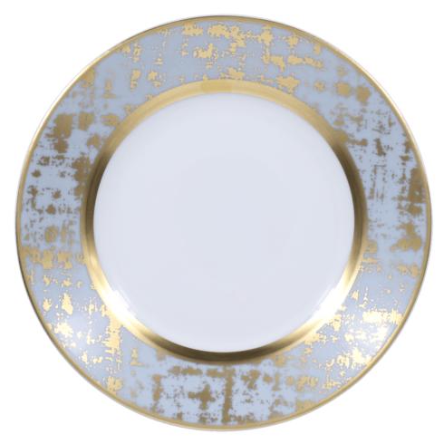 Royal Limoges  Recamier - TWEED GREY&GOLD Bread & Butter Plate $85.00
