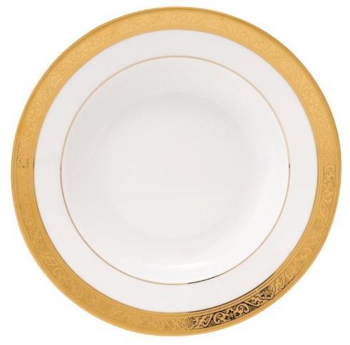 Deshoulieres  Trianon gold Rim Soup Plate $120.00