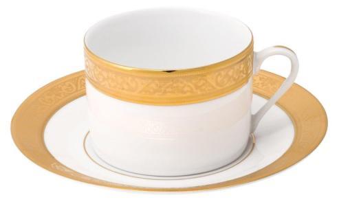 Deshoulieres  Trianon gold Tea Saucer $60.00