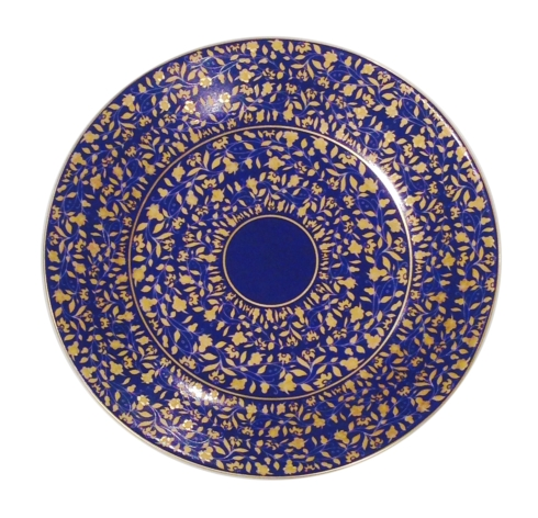 $90.00 Blue b&b plate