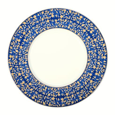 Blue presentation plate