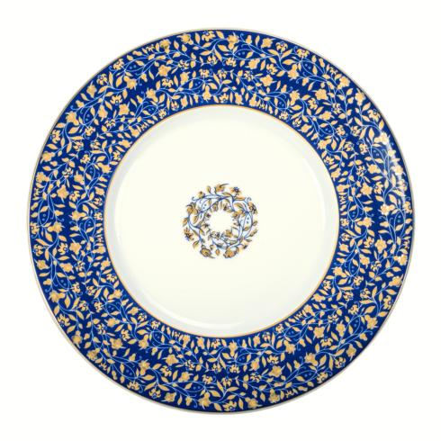 Blue dessert plate