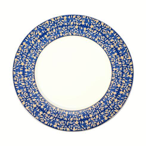 Blue dinner plate image