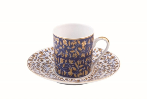 $40.00 White coffee saucer
