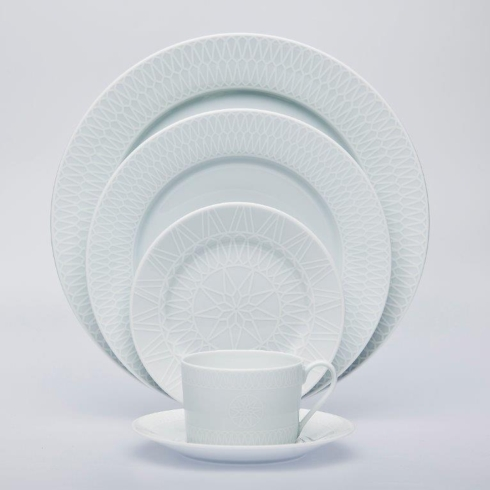 5 piece place setting ...  sc 1 st  Vieuxtemps & Royal Limoges Recamier - White Star products
