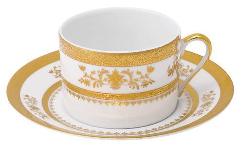 Deshoulieres  Orsay white Tea Saucer $60.00