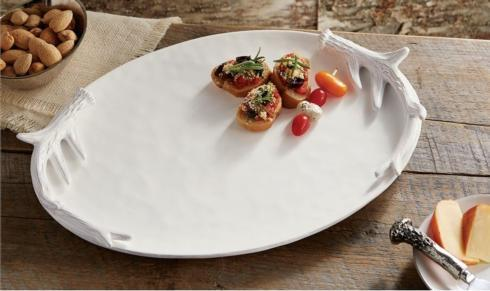 Oval Antler Platter collection with 1 products