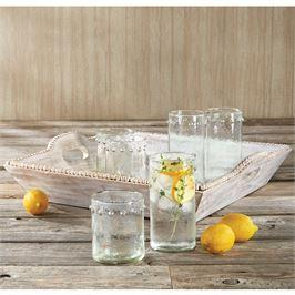 White-Washed Beaded Tray collection with 1 products