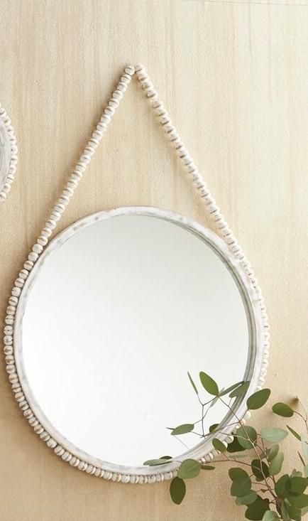 Hanging Beaded Mirror collection with 1 products