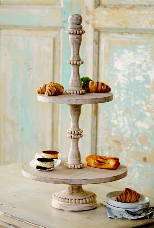 Wood Tiered Server collection with 1 products