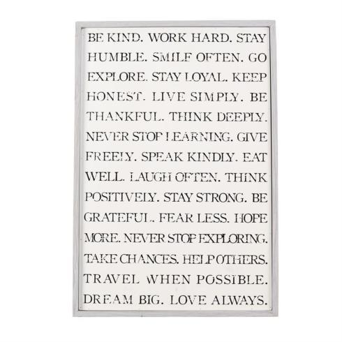 Be Kind Wall Art collection with 1 products