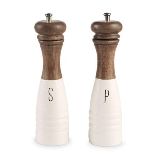 Wood Enamel Salt/Pepper Mills collection with 1 products