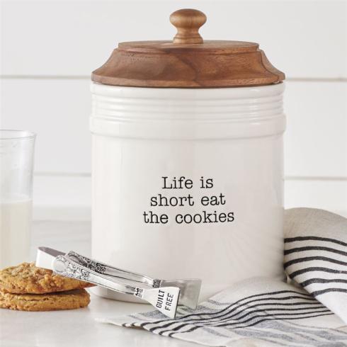 $45.00 Eat Cookies Jar