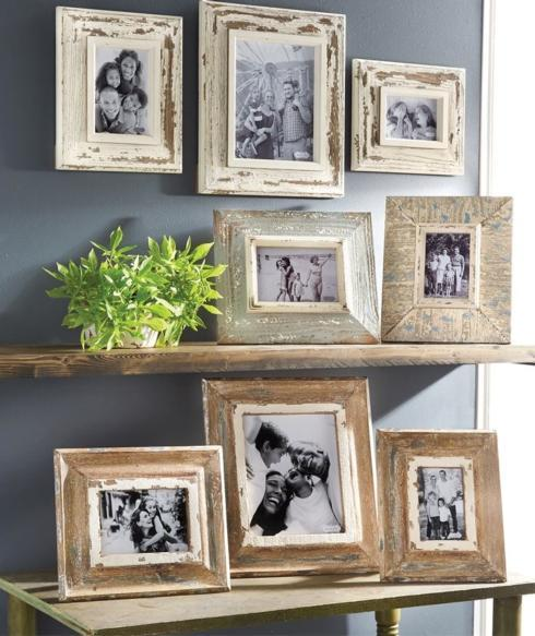 Large Distressed Wood Frame collection with 1 products