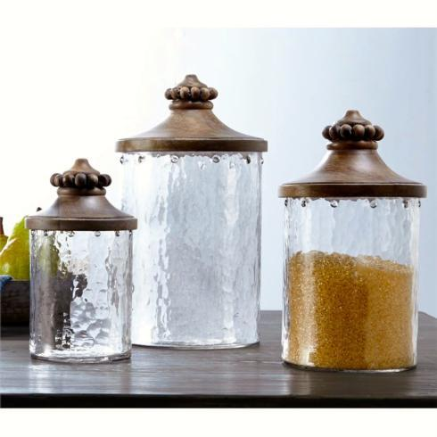 Wood Top Canister Set collection with 1 products