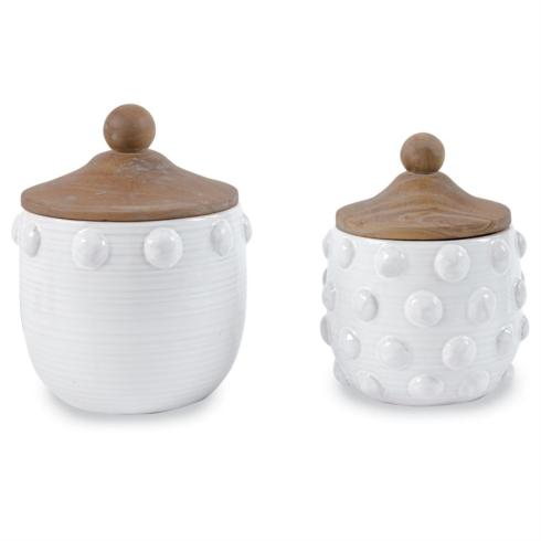 Raised Dot Canister Set collection with 1 products