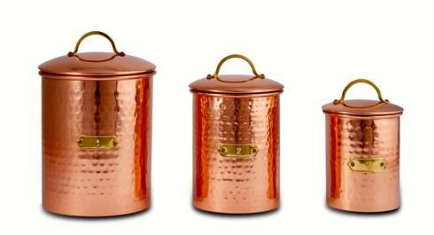 $70.00 Copper Canister Set