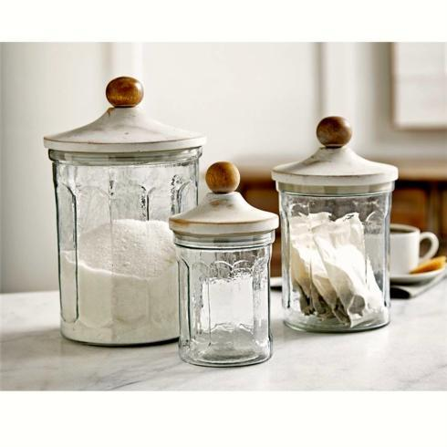 White Washed Canister Set collection with 1 products