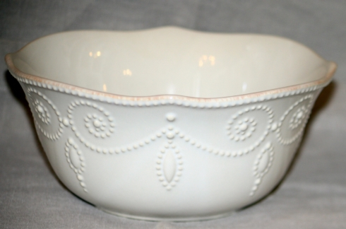 French Perle  White All purpose bowl collection with 1 products