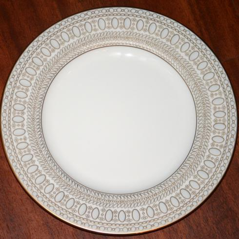 Gilded Pearl Salad Plate