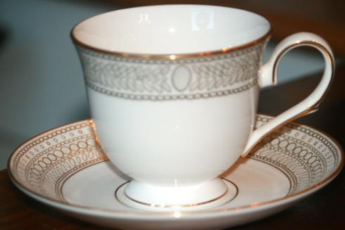 Gilded Pearl Tea Cup