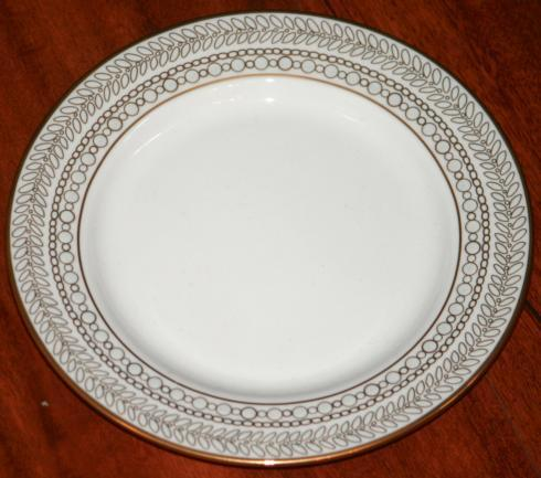 Gilded Pearl Butter Plate