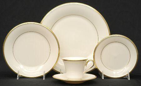 Lenox   Eternal cup/saucer $57.00