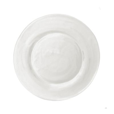 $13.00 Le Cadeaux rustique cream salad plate
