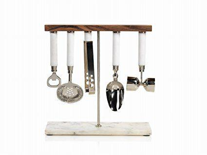 Zodax   5 piece bar tool set $135.00