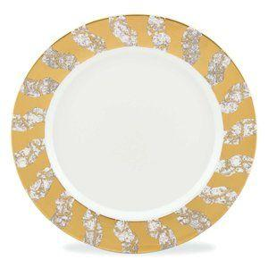$80.00 MW Tempio Luna Gold Salad Plate
