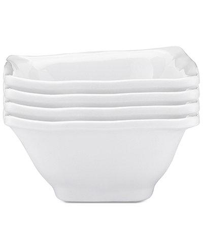 Q Squared   Q Squared White Dip Bowl $6.00
