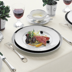 $60.00 Cristal Dinner Plate