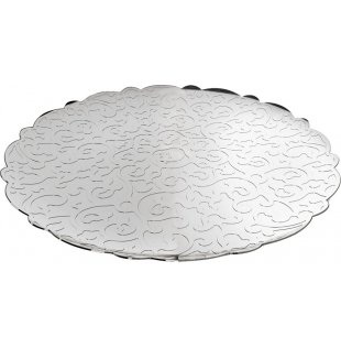 $123.00 Dressed Stainless Round Tray