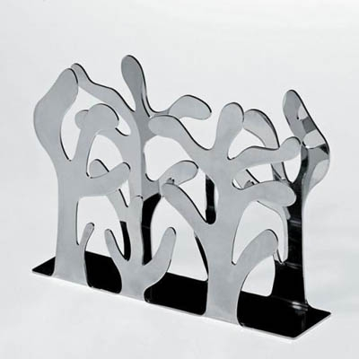 $64.00 Mediterraneo Stainless Napkin Holder