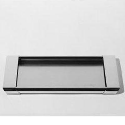 $160.00 Tiffany Stainless Steel Rectangular Tray