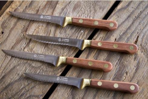 Wood Knives, set of 4