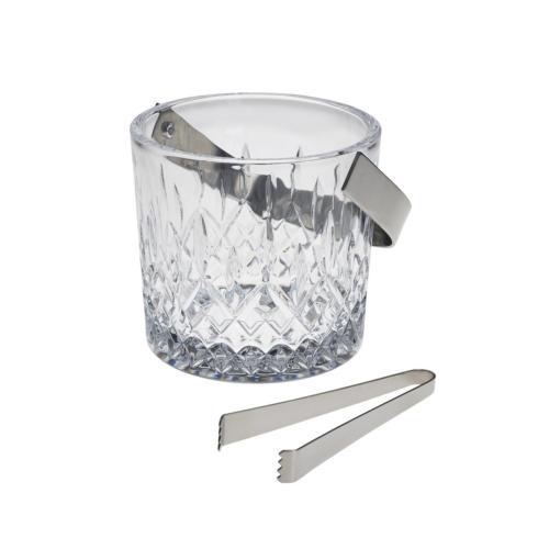 $120.00 Hamilton Ice Bucket with Tongs