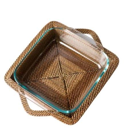 $79.00 3QT Square Baker with Pyrex